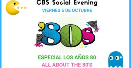 80s CBS Social Evening evento – web
