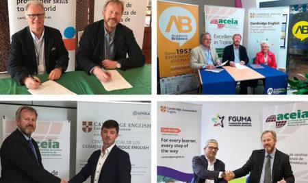 ACEIA  y Cambridge Assessment English promueven la certificación de idiomas en Andalucía