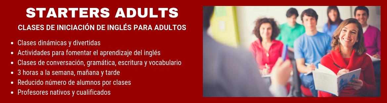Curso de Iniciación Inglés para adultos