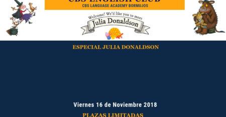 Evento Web 16 nov english club 2018 Julia Donaldson