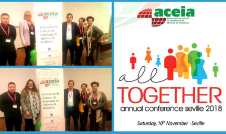 CBS Language Academy participa en All Together Annual Conference Seville 2018, organizada por ACEIA.