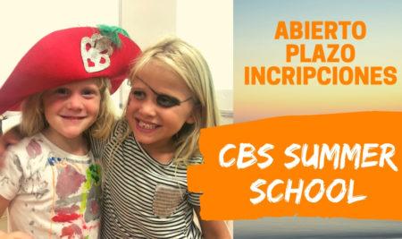 Abierto plazo de Inscripción en CBS Summer School – Escuela de Verano en inglés