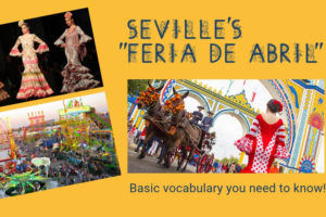 vocabulary feria abril sevilla