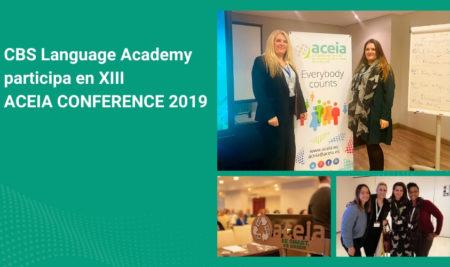 Directivos y profesores de CBS Language Academy participan en XIII ACEIA Conference 2019