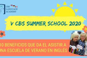 noticia 10 Beneficios que da el asistir a una escuela de verano en inglés