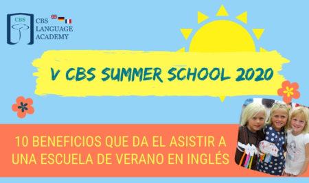 10 Beneficios que da el asistir a una escuela de verano en inglés